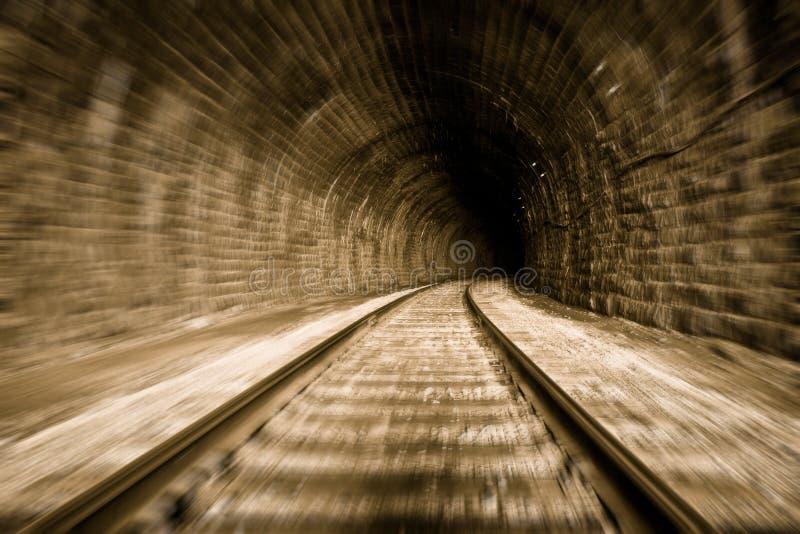 Traforo del treno immagini stock libere da diritti