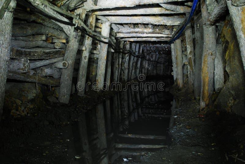 Traforo della miniera immagini stock libere da diritti