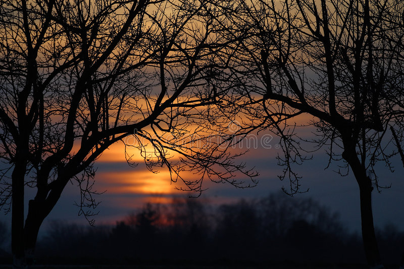 Traforo di Sun fotografie stock libere da diritti