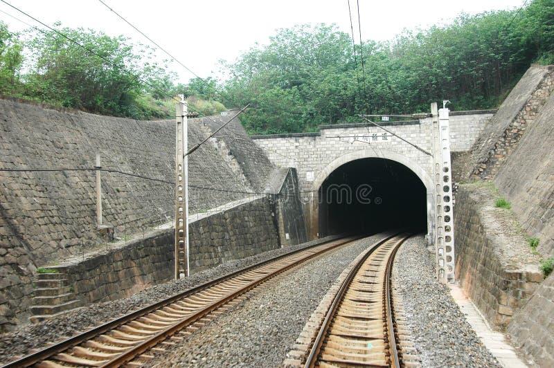 Traforo ferroviario fotografie stock libere da diritti
