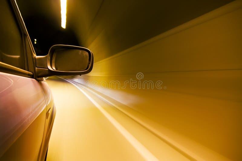 Traforo interno di alta velocità fotografia stock