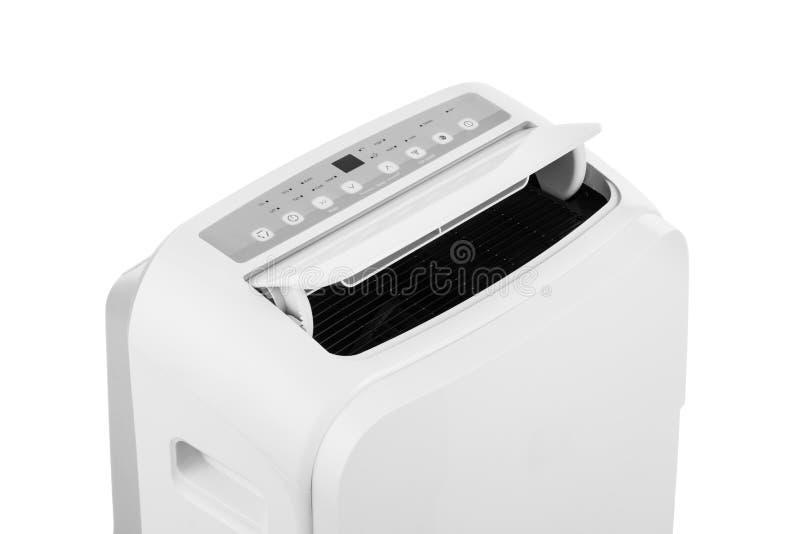 Tragbare Klimaanlage Oder Trockenmittel Lokalisiert Auf Weißem ...