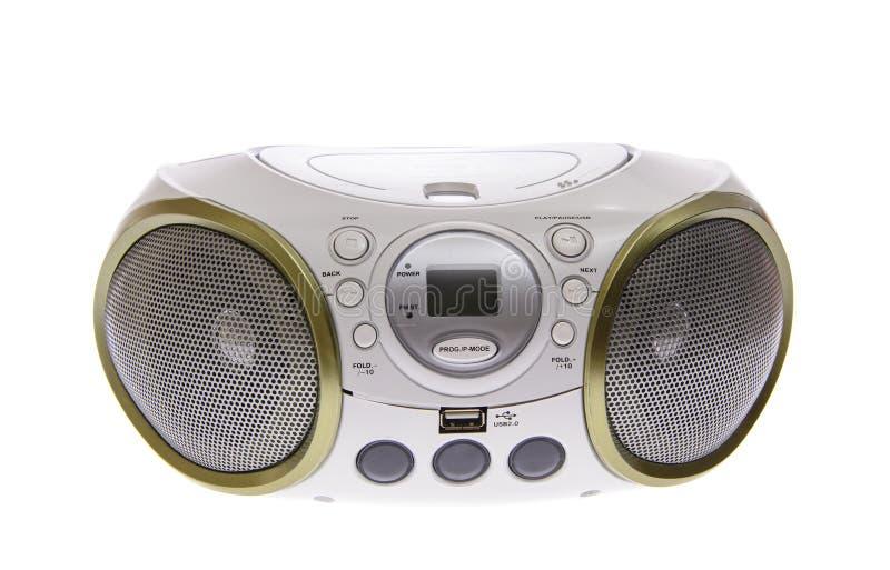Tragbarer MP3, CD, DVD-Audio Getrennt lizenzfreie stockfotografie