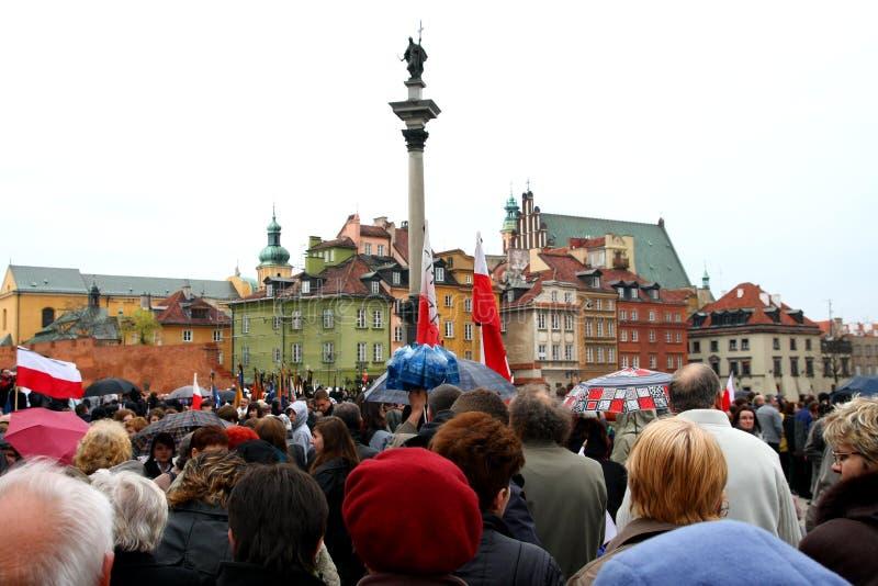 Tragedia nacional 2010 foto de archivo