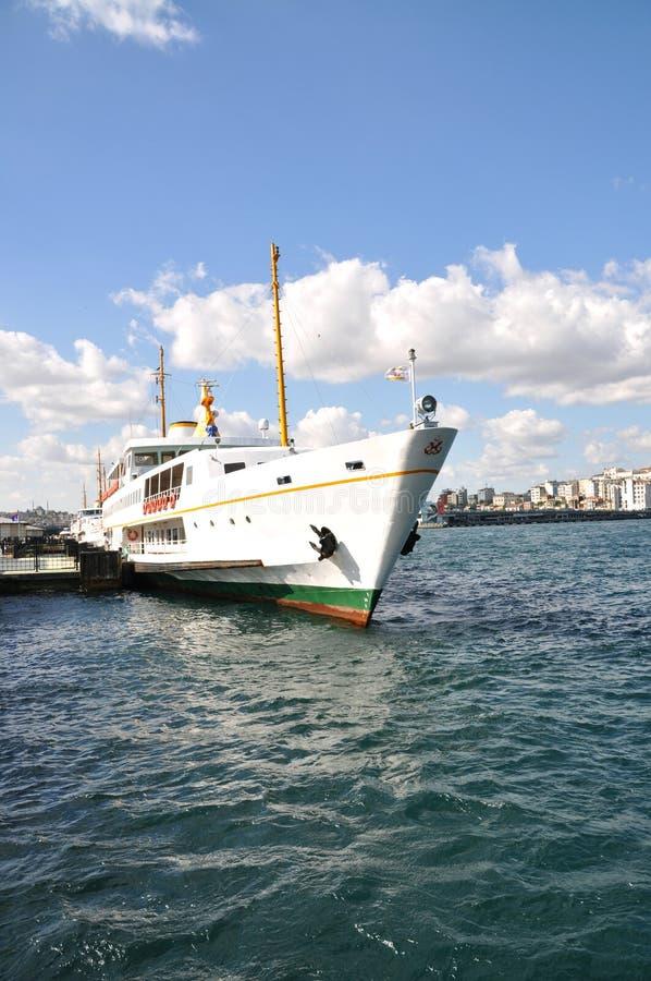 Traghetto Costantinopoli fotografie stock libere da diritti