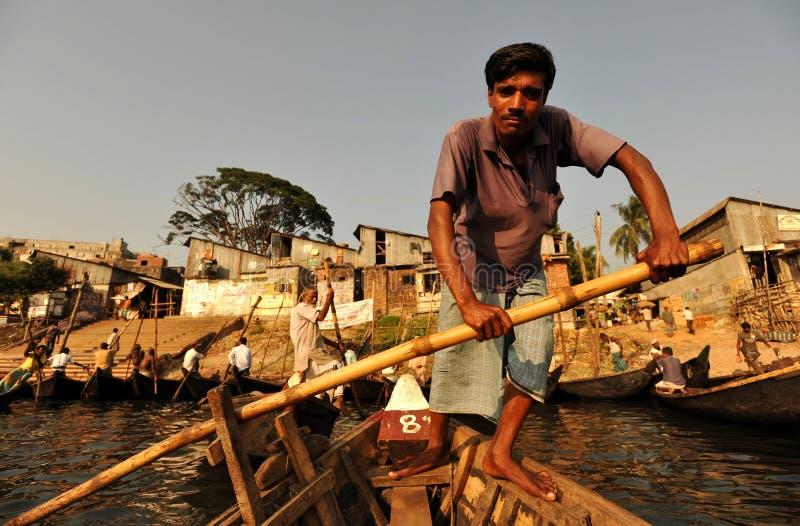 Traghetto a Dacca fotografia stock