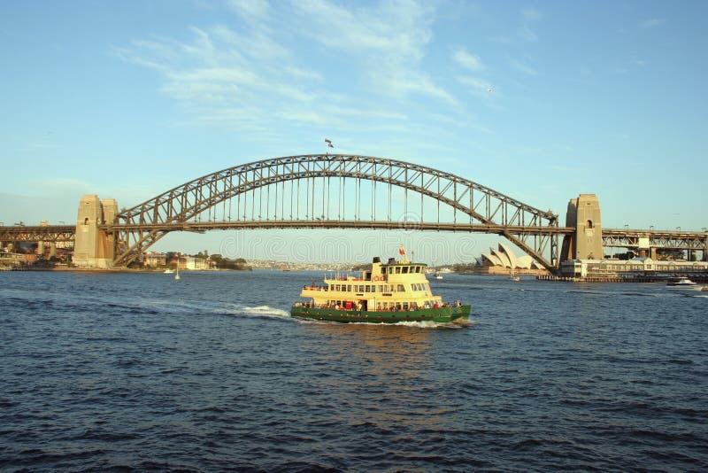 Traghetto del porto di Sydney fotografia stock