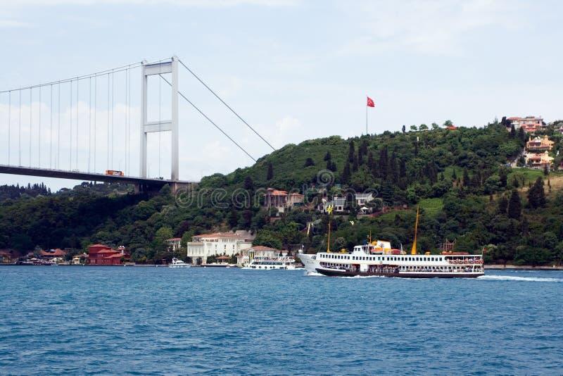 Traghetto di Bosphorus immagine stock libera da diritti