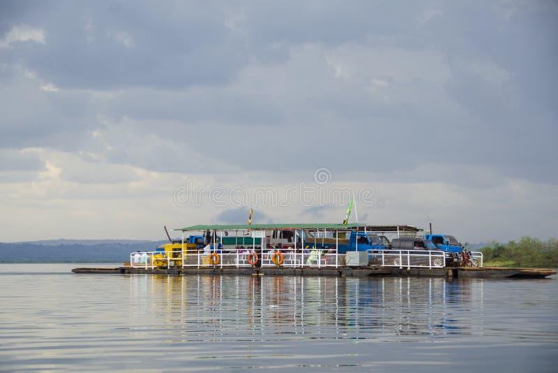 Traghetto di Mabamba fotografia stock libera da diritti
