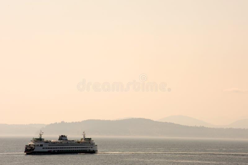 Traghetto di Seattle fotografia stock libera da diritti
