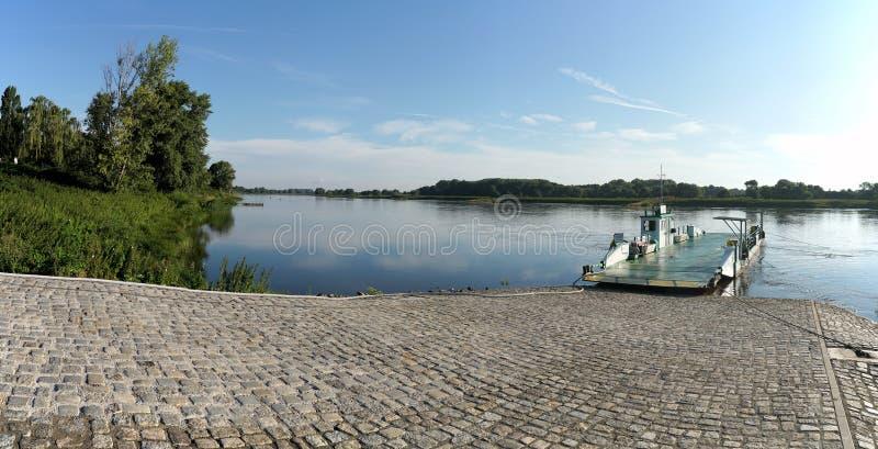Traghetto a Magdeburgo fotografia stock libera da diritti