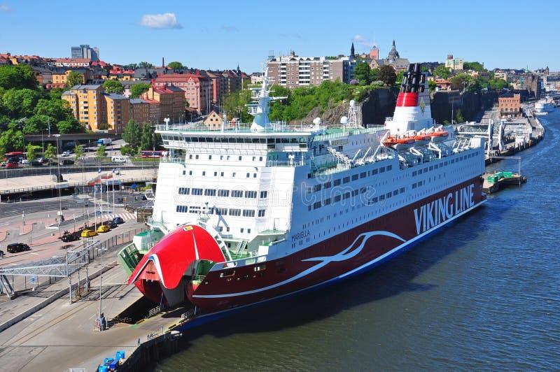 Traghetto Viking Line Mariella immagini stock libere da diritti