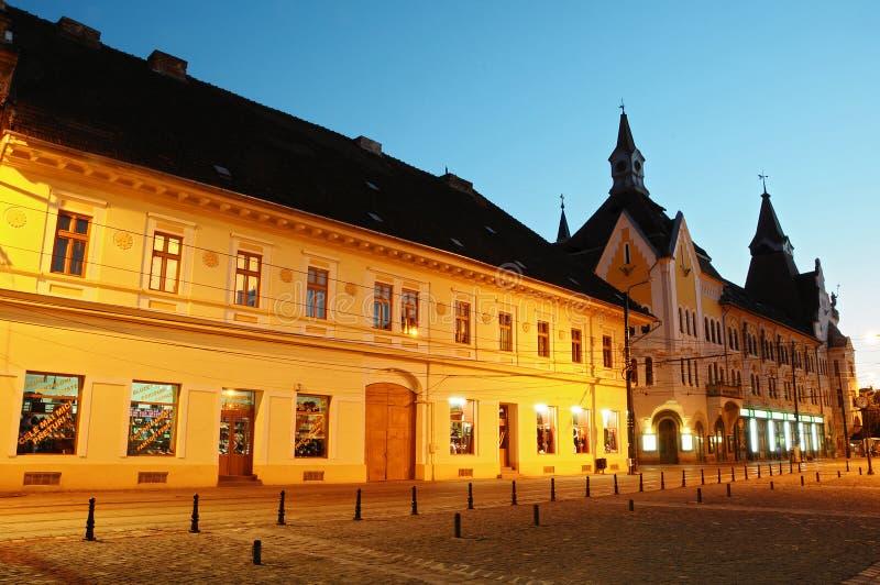 Traian Markt - Gewebe-Bezirk - Timisoara lizenzfreie stockbilder