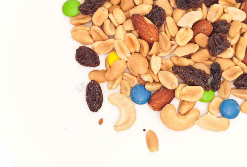 Download Trail Mix stock image. Image of calories, diet, background - 13837813