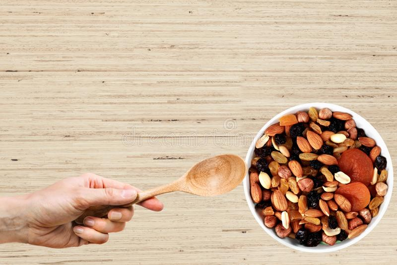 Trail Mix royalty free stock image