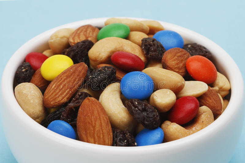 Download Trail Mix Macro stock photo. Image of nutritious, multicolor - 27527208