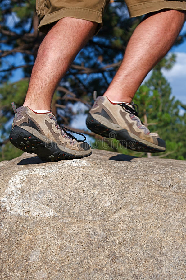 Download Trail Running stock image. Image of calf, sierras, foot - 11056409