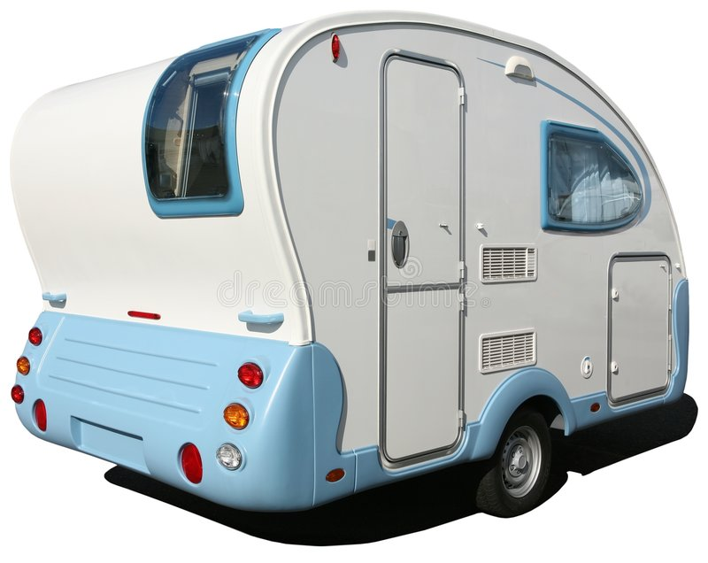 Trailer. New model trendy caravan of 2006