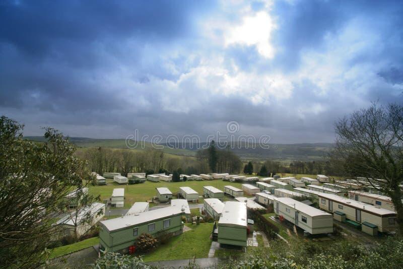 Download Trailer park stock photo. Image of kingdom, homes, trailer - 599938