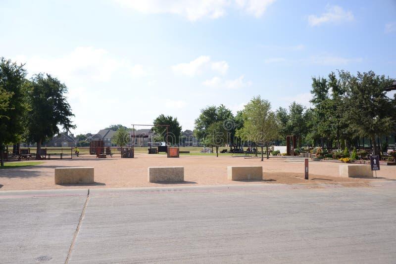 Trailhead Plenerowy park, Fort Worth Teksas obrazy royalty free