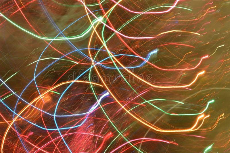 Download Abstract Light Trails Rainbow Colors Stock Image - Image of fast, background: 103358669