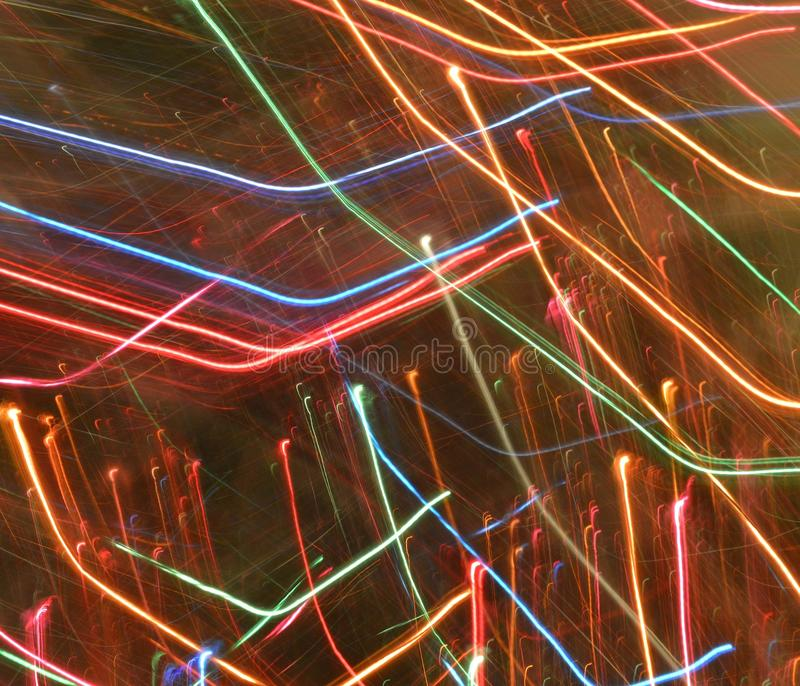 Download Abstract Light Trails Rainbow Colors Stock Photo - Image of colors, lights: 103358786