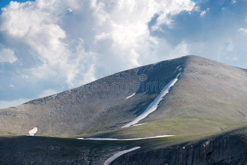 The trailway on summit of Mount Olympus royalty free stock photography