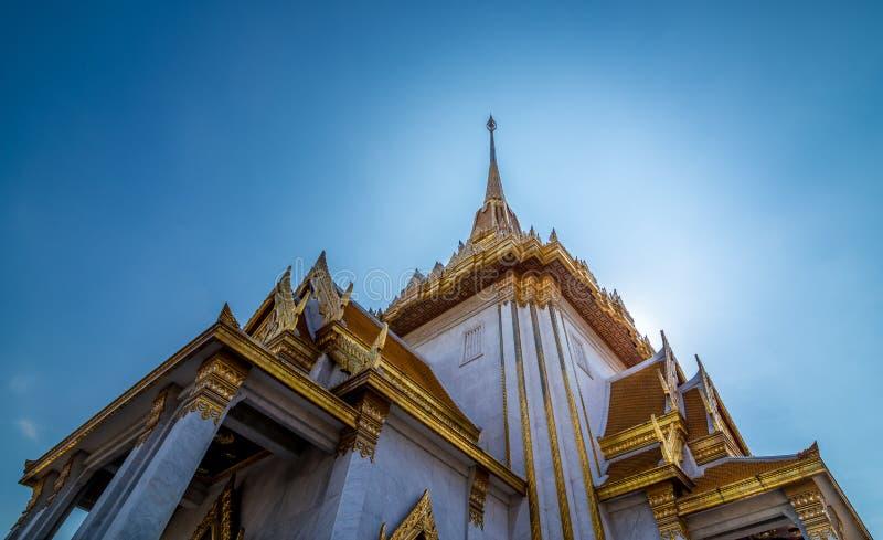 Traimitr寺庙,曼谷,泰国 库存图片