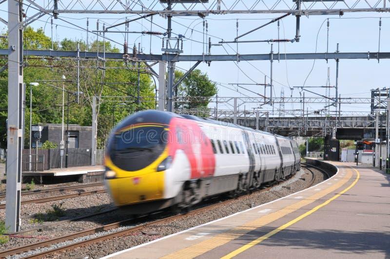 Train à grande vitesse Lichfield photos stock