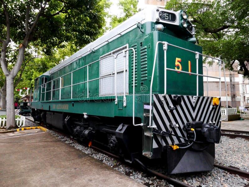 Train électrique diesel de moteur aucun 51 photographie stock