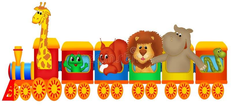 Train illustration libre de droits