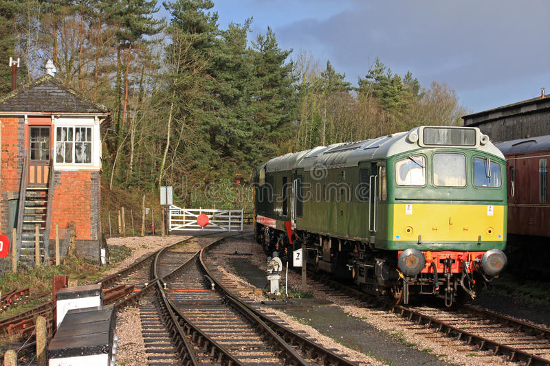 Download Train stock photo. Image of tracks, sleepers, carriage - 25245814