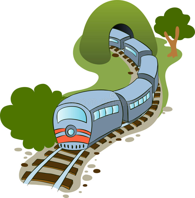 Train illustration stock