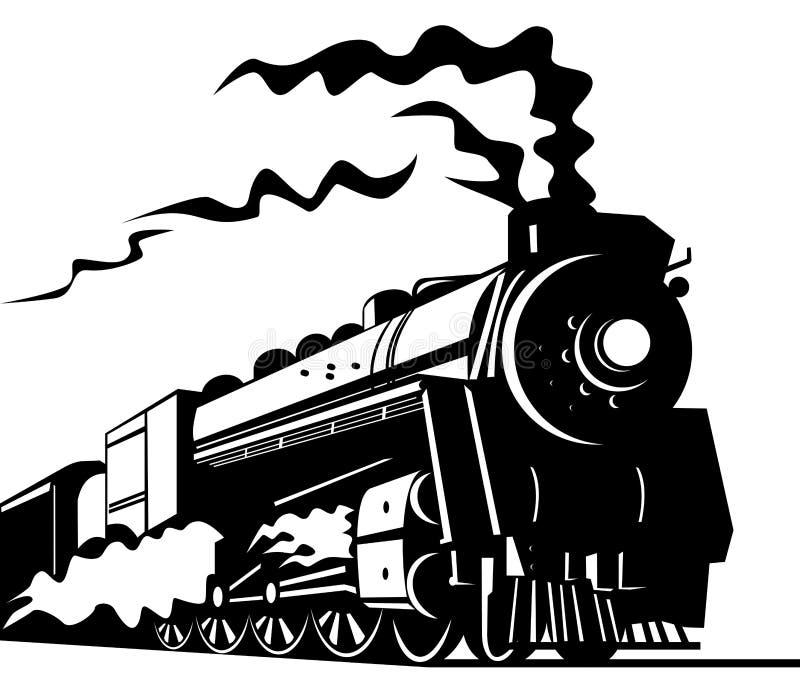 Download Train stock vector. Image of black, rail, engine, train - 5501841