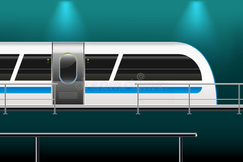 Train vector illustration