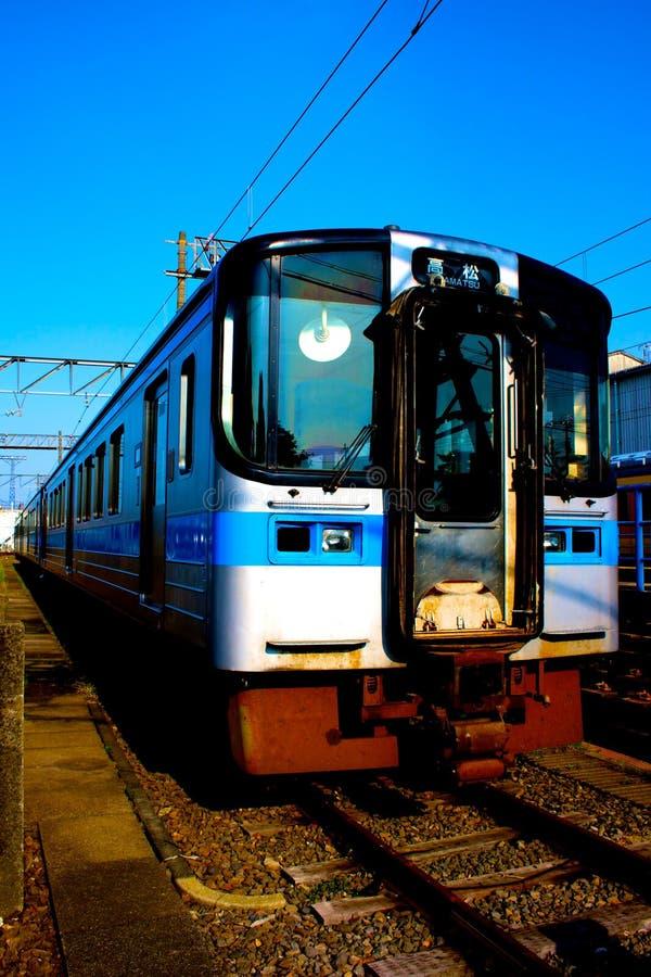 Download Train stock photo. Image of japan, blue, locomotive, railway - 9429676