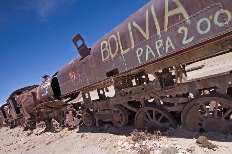 Train abandonné images libres de droits