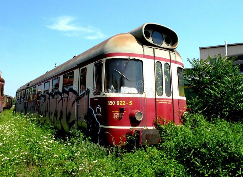 Train abandonné photo libre de droits