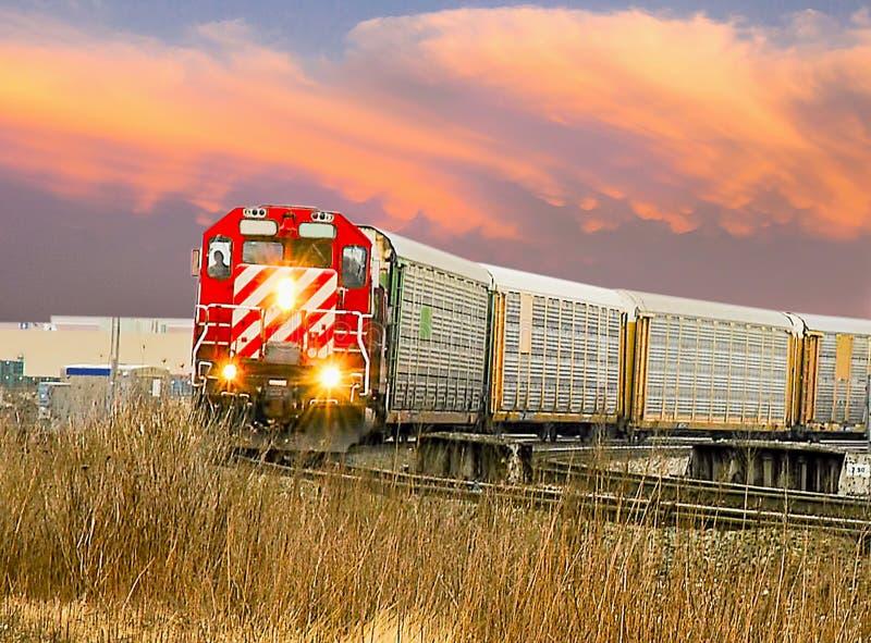 Train automatique de Detroit photo stock