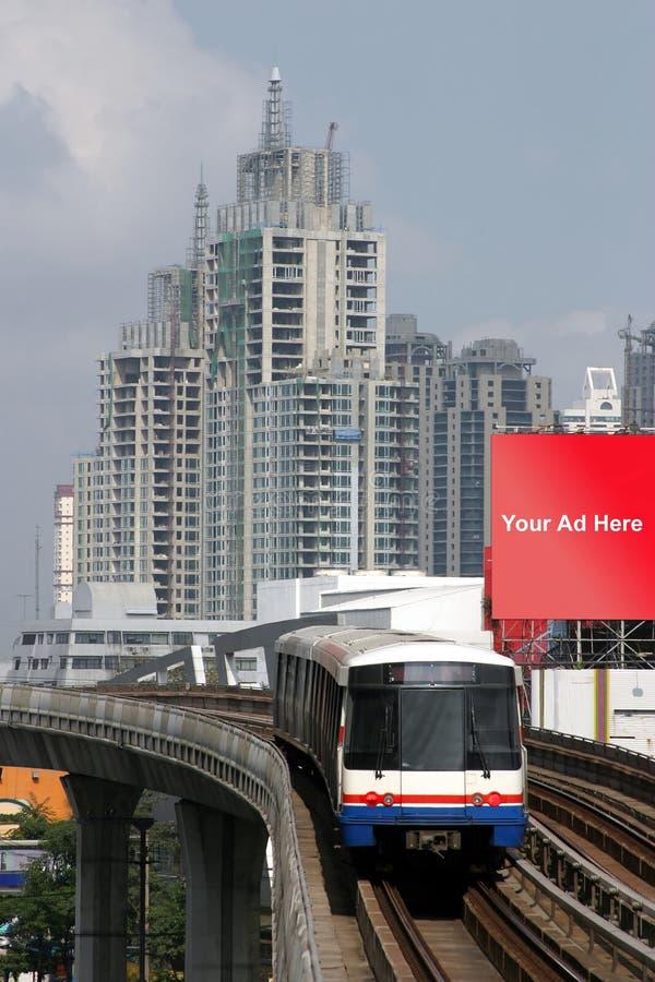 Train in Bangkok, Thailand royalty free stock images