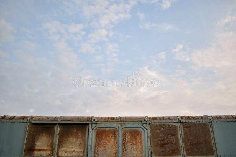 Train bogie roof royalty free stock photos