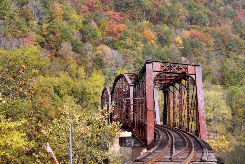 Download Train bridge stock image. Image of railroad, bridge, west - 24163341