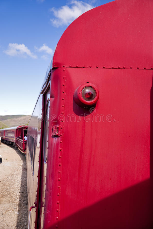 Download Train Car Rolling Done The Tracks Stock Photo - Image: 25206582