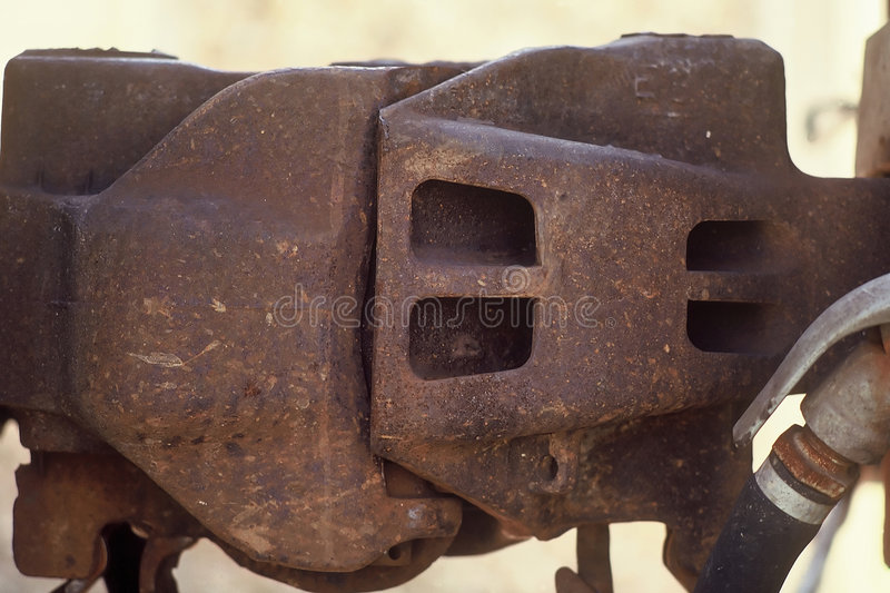 Train Coupler royalty free stock photo