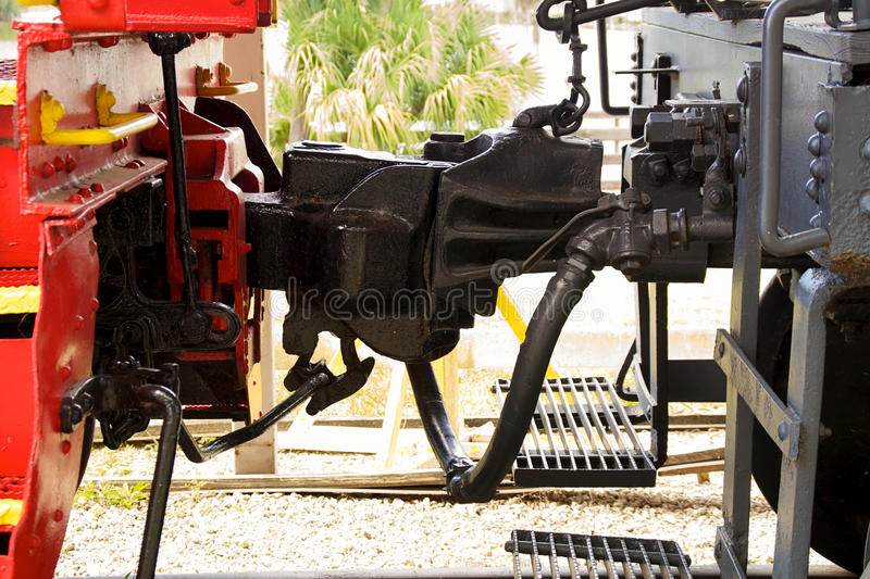 Download Train coupling stock photo. Image of joiner, fashioned - 38113162