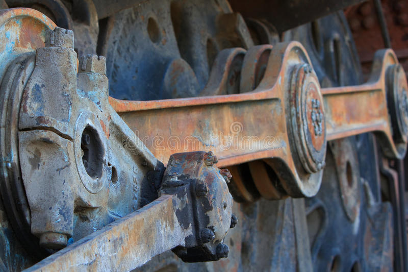 Download Train Coupling Rods  LR stock photo. Image of powered - 15190762