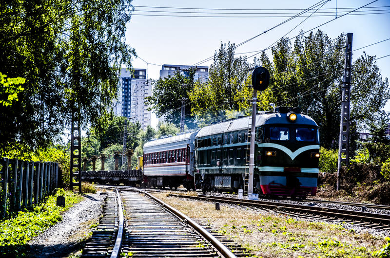 The Train. Cu-Cr mutual insolubility metal composites have been widely used for integrated circuit lead frames, heavy-duty electrical contacts and electrical royalty free stock images