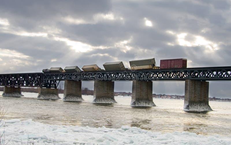 Train déraillé photos stock