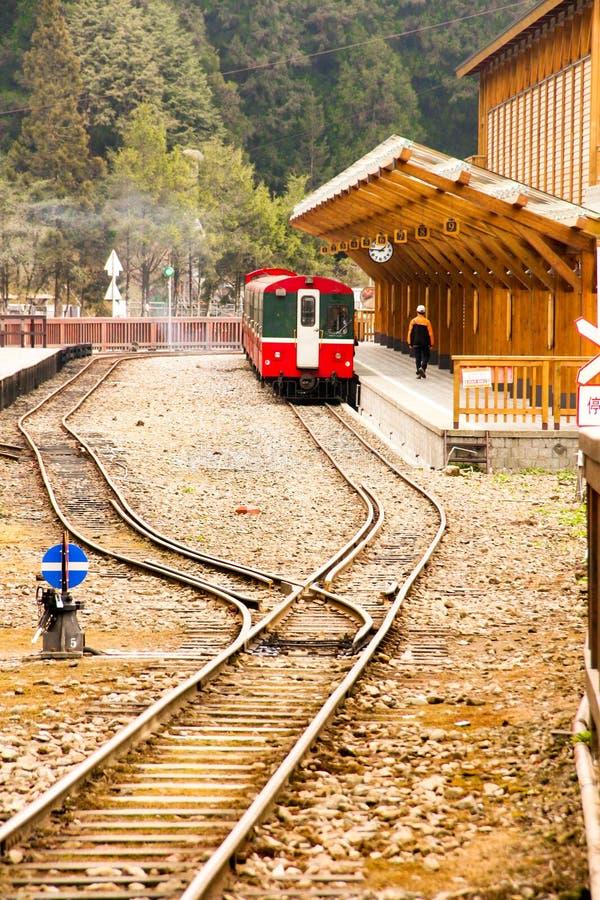 Train d'Ali Mountain photos stock