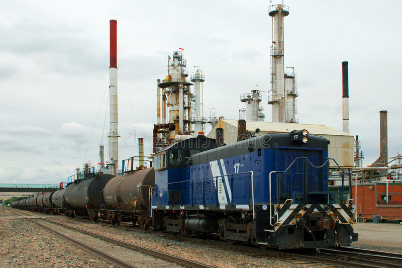 Train d'essence images stock